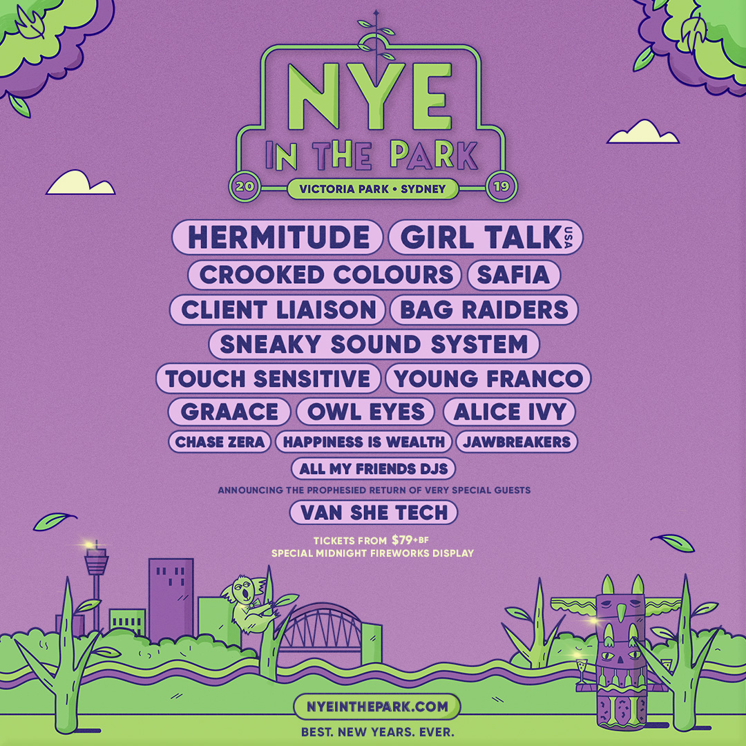 NYE in the Park Festival Sydney