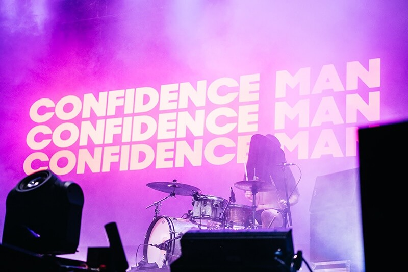 Photo of Confidence Man at NYE in the Park